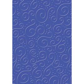 Bastelkarton Milano geprägt 50x70cm 220g mittelblau Heyda 20-4772263 Produktbild