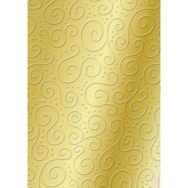Bastelkarton Milano geprägt 49,5x67,3cm 220g gold Heyda 20-4772269 Produktbild