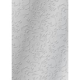 Bastelkarton Milano geprägt 50x70cm 220g silber Heyda 20-4772277 Produktbild