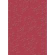 Bastelkarton Firenze geprägt 50x70cm 220g rot Heyda 20-4772296 Produktbild