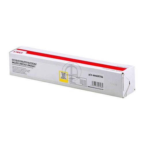 Toner für C310DN/MC351DN 2000 Seiten yellow OKI 44469704 Produktbild