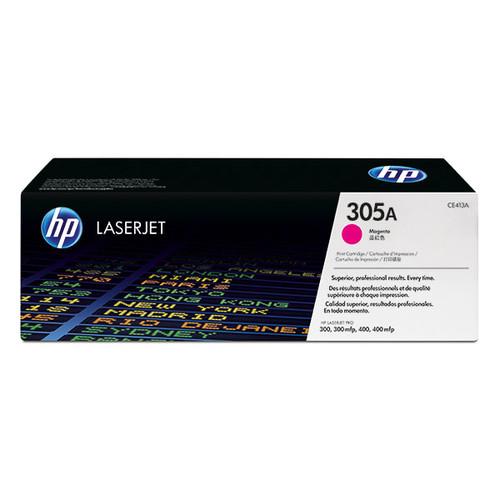 Toner 305A für HP Laserjet Pro 300/400 Color Serie 2600 Seiten magenta HP CE413A Produktbild Front View L