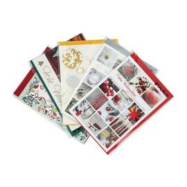 Glückwunschkarten Weihnachten verschiedene Motive (PACK=5 STÜCK) Produktbild