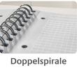 Spiralnotizbuch NOTIZIO MEDIUM A5 kariert 90Blatt grau Kunststoff-Cover Zweckform 7015 Produktbild Additional View 6 S