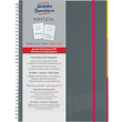 Spiralnotizbuch NOTIZIO MEDIUM A5 kariert 90Blatt grau Kunststoff-Cover Zweckform 7015 Produktbild Additional View 1 S