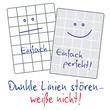 Spiralnotizbuch NOTIZIO PREMIUM A5 kariert 90Blatt dunkelgrau Hardcover Zweckform 7023 Produktbild Back View S