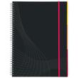 Spiralnotizbuch NOTIZIO PREMIUM A5 kariert 90Blatt dunkelgrau Hardcover Zweckform 7023 Produktbild Additional View 2 S
