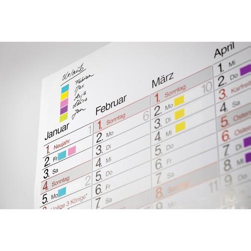 Haftstreifen Post-it Index Mini 11,9x43,2mm 7 Leuchtfarben transparent 3M 683-VAD1 (PACK=10x 35 STÜCK) Produktbild Additional View 5 L