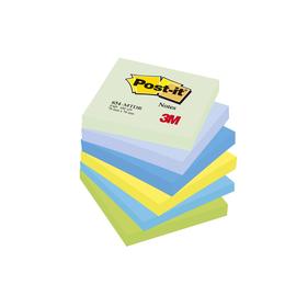 Haftnotizen Post-it Notes Dreamy Collection 76x76mm rainbowfarben Papier 3M 654MTDR (PACK=6x 100 BLATT) Produktbild