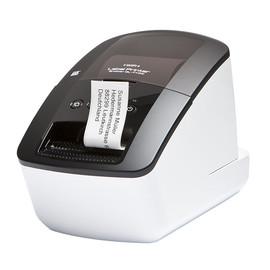 Etikettendrucker QL 710W für DK-Etiketten -62mm mit WLAN Brother QL810WZG1 Produktbild