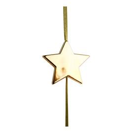 Anhänger Flashlight Stern gold mit Gummiband Ø 5,6cm Famulus B11015 Produktbild