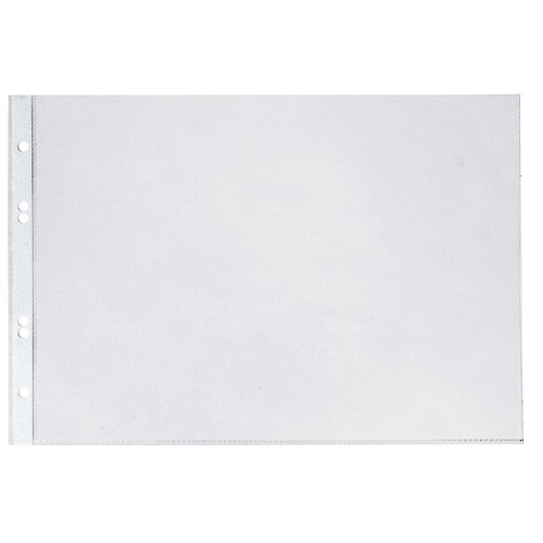 Prospekthülle oben offen A4 quer 100µ PP glasklar Veloflex 4340300 (PACK=10 STÜCK) Produktbild Front View L