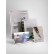 Tischaufsteller L 100x48x155mm hoch Acryl Helit H2354402 Produktbild Additional View 1 S