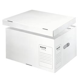 Archiv Container Infinity mit separatem Deckel Größe L 420x350x265mm weiß Leitz 6104-00-00 Produktbild