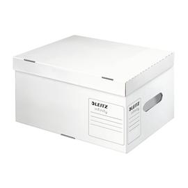 Archiv Container Infinity mit Deckel für A4 355x255x190mm weiß Leitz 6105-00-00 Produktbild