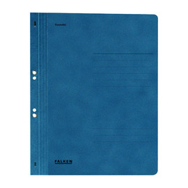 Ösenhefter 1/1 Vorderdeckel kaufmännische Heftung 238x305mm blau Karton Falken 80003882 Produktbild