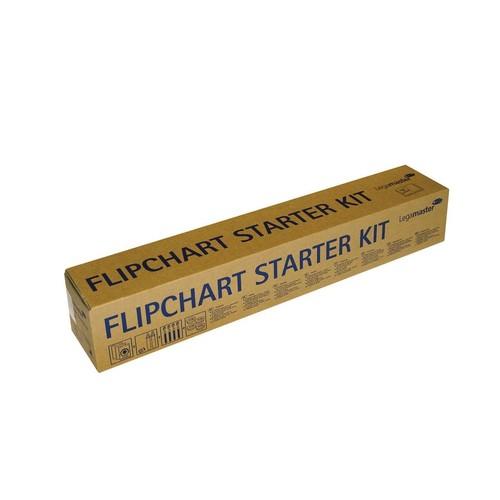 Starter-Kit für Flipchart 3x Blöcke + Stifteset + Magnete Legamaster 7-124900 Produktbild Additional View 2 L