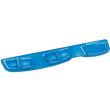 Handgelenkauflage Crystal Gel mit Health-v Auflage blau Fellowes 9183101 Produktbild