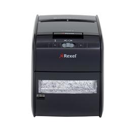 Aktenvernichter Auto+ 60X bis 60 Blatt 4x45mm Partikelschnitt Rexel 2103060EU (Sicherheitsstufe P-3) Produktbild