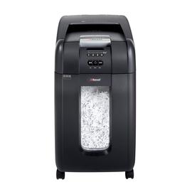 Aktenvernichter Auto+ 300X bis 300 Blatt 4x40mm Partikelschnitt Rexel 2103250EU (Sicherheitsstufe P-4) Produktbild