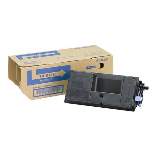 Toner TK-3110 für Kyocera FS-4100DN 15500 Seiten schwarz Kyocera 1T02MT0NLV Produktbild Front View L