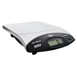Briefwaage EASY 2000 bis 2000g 2g-Teilung silber/schwarz Batteriebetrieb WEDO 482200 Produktbild
