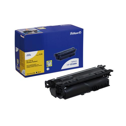 Toner Gr. 1223b (CE260A) für Color Laserjet CP 4525/CM4540 8500Seiten schwarz Pelikan 4213990 Produktbild Front View L