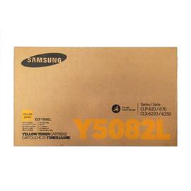 Toner Y5082L für CLP-620/670/ CLX6220FX/CLX6250FX 4000Seiten yellow Samsung CLT-Y5082L/ELS Produktbild