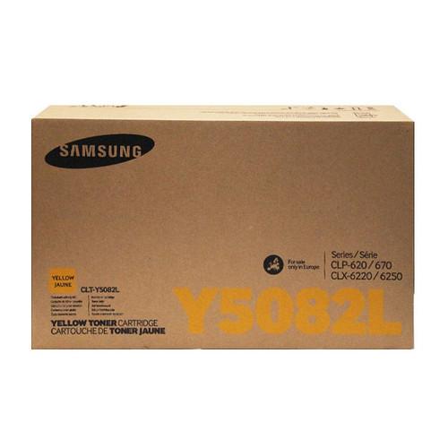 Toner Y5082L für Samsung CLP-620/670/ CLX6220FX 4000Seiten yellow SU532A Produktbild Additional View 1 L