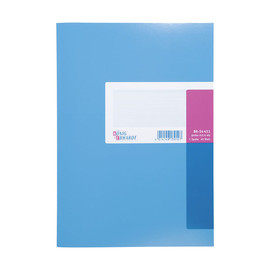 Spaltenbuch 1Spalte ohne Kopfleiste A4 40Blatt hellblau/magenta hochglanz Karton König & Ebhard 89-14411 Produktbild