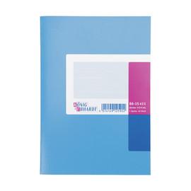 Spaltenbuch 1Spalte ohne Kopfleiste A5 36Blatt hellblau/magenta hochglanz Karton König & Ebhard 86-15411 Produktbild