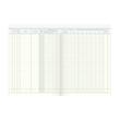 Waren + Rechnungseingangsbuch A4 40Blatt oranger Karton Schema über 2 Seiten König & Ebhardt 86-10661 Produktbild