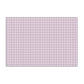 Karteikarten A7 kariert rot Brunnen 10-2270220 (PACK=100 STÜCK) Produktbild