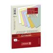 Karteikarten A7 kariert rot Brunnen 10-2270220 (PACK=100 STÜCK) Produktbild Additional View 1 S