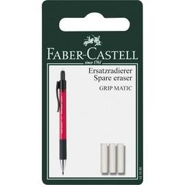 Ersatz-Radiergummi für Druckbleistift GRIP MATIC Faber Castell 131595 (PACK=3 STÜCK) Produktbild