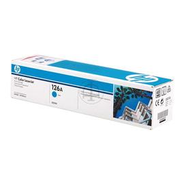 Toner 126A für Laserjet Pro CP1020/ CP1025 1000 Seiten cyan HP CE311A Produktbild