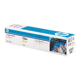 Toner 126A für Laserjet Pro CP1020/ CP1025 1000 Seiten yellow HP CE312A Produktbild