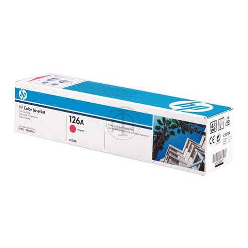 Toner 126A für Laserjet Pro CP1020/ CP1025 1000 Seiten magenta HP CE313A Produktbild Front View L