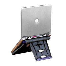 Notebookhalterung SmartFit Easy Riser 33,4x27,9x4,1cm Metall/Kunststoff grau Kensington 60112 Produktbild