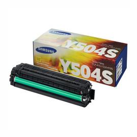 Toner Y504S für Samsung CLP-415 1800 Seiten yellow SU502A Produktbild