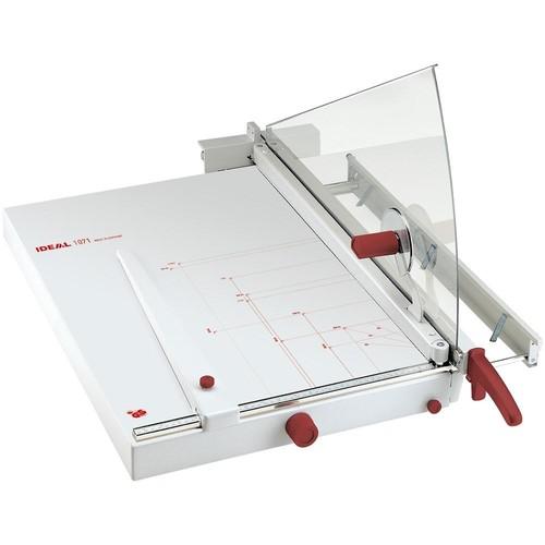 Schneidemaschine mit Hebel Schnittlänge 710mm, Schnitthöhe 4mm perlgrau Ideal 1071 Produktbild Front View L