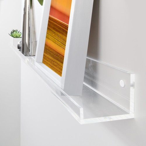 Galerieboard gallery 100x5x7cm glasklar Sigel GA110 Produktbild Additional View 1 L