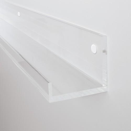 Galerieboard gallery 100x5x7cm glasklar Sigel GA110 Produktbild Additional View 2 L
