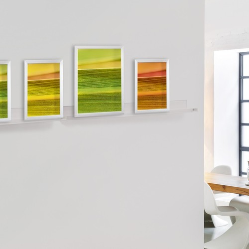 Galerieboard gallery 100x5x7cm glasklar Sigel GA110 Produktbild Additional View 4 L