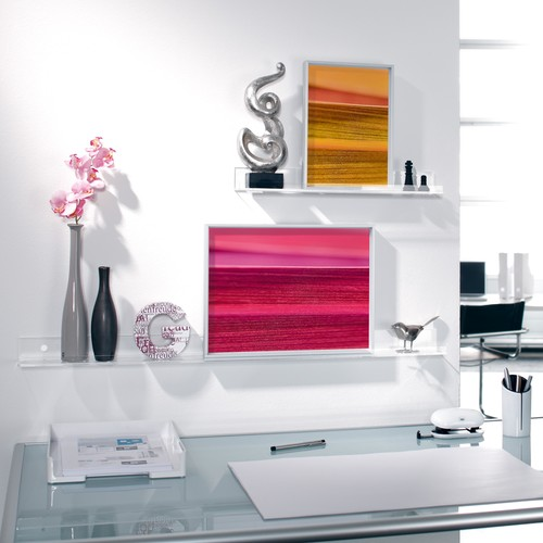 Galerieboard gallery 100x5x7cm glasklar Sigel GA110 Produktbild Additional View 5 L