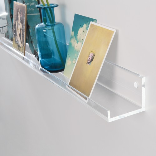 Galerieboard gallery 50x5x7cm glasklar Sigel GA111 Produktbild Additional View 1 L