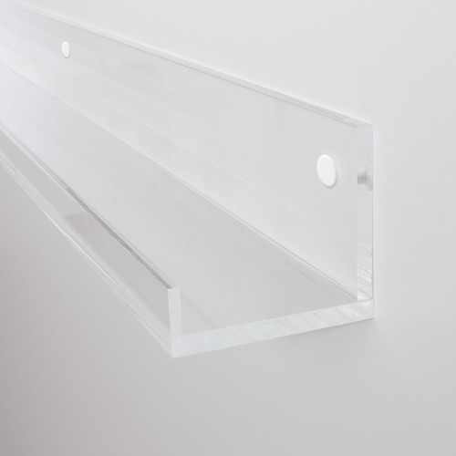 Galerieboard gallery 50x5x7cm glasklar Sigel GA111 Produktbild Additional View 2 L