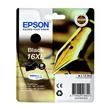 Tintenpatrone 16XL für Epson Workforce WF 2010 W 12,9ml schwarz Epson T163140 Produktbild