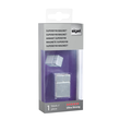 SuperDym-Magnet-Würfel C30 artverum Cube-Design 20x30x20mm silber vernickelt ultra stark Sigel GL197 Produktbild