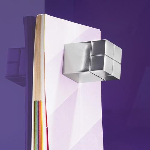 SuperDym-Magnet-Würfel C30 artverum Cube-Design 20x30x20mm silber vernickelt ultra stark Sigel GL197 Produktbild Additional View 5 L
